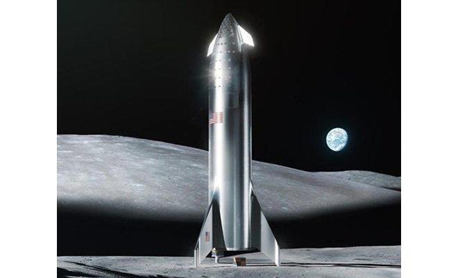 Musk: SpaceX aracı iki yıl içinde Ay'a inecek