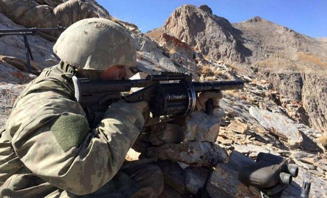 Turuncu kategoride aranan PKK'li öldüürldü
