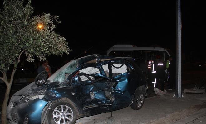 Meydana gelen kazada bir ölü, 5 yaralı