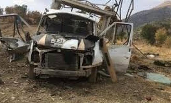 PKK'lılar  orman işçilerine saldırdı! 4 yaralı