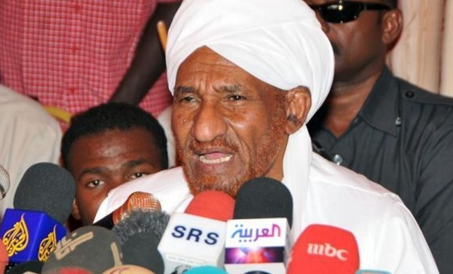Sadık Mehdi, Sudan hükümetini uyardı: Normalleşme ihanettir