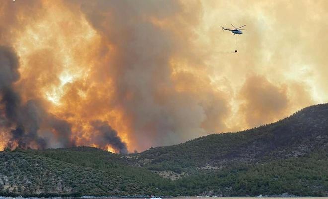 Bugün çıkan 14 orman yangını kontrol altına alındı