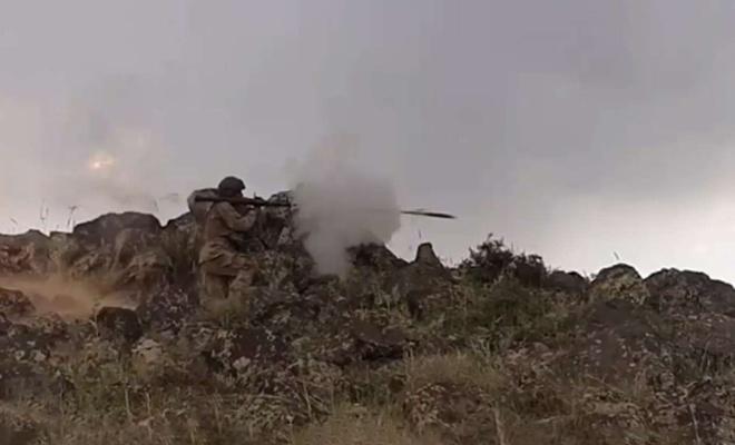 Barış Pınarı bölgesinde 5 PKK/YPG'li öldürüldü
