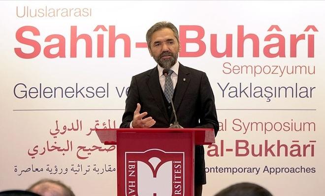 İbn Haldun Üniversitesi Rektörü Prof. Dr. Şentürk: Hadis İslam ümmetinin toplumsal hafızasıdır