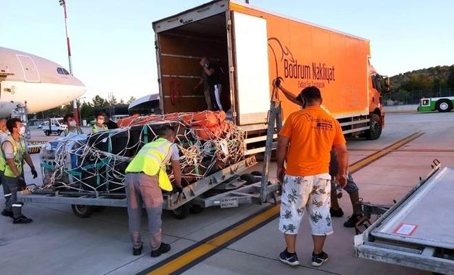 Katar kraliyet ailesi, Bodrum'daki lüks tatiline 180 personel ve 500 valizle geldi