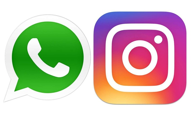Instagram and WhatsApp are back online after going down nearly an hour