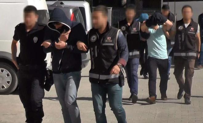 Aranan 24 şahıs yakalandı