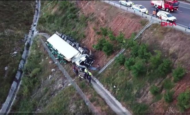Kazada sevindiren haber! Sürücü sağ kurtuldu