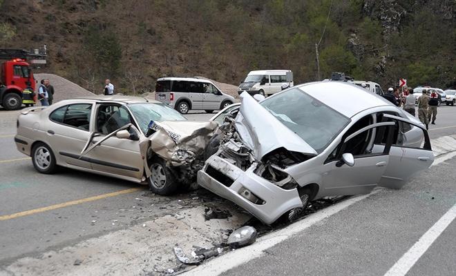 Trafik kazalarında sevindiren gelişme