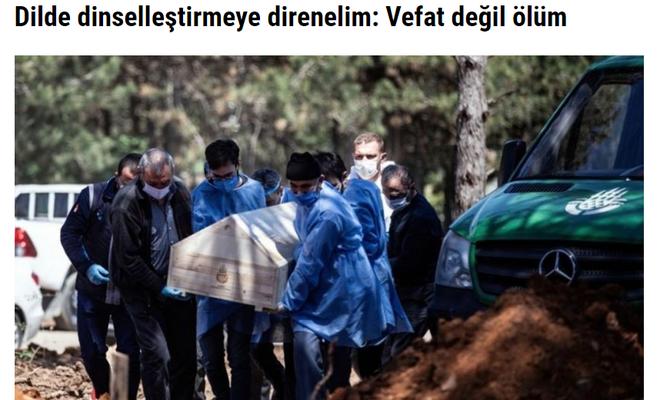 Biz vefat ederiz siz ölün