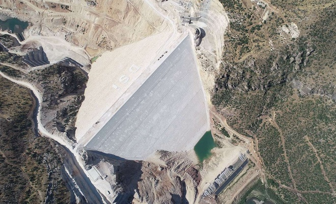 Cumhurbaşkanı Erdoğan'ın katılacağı törenle Silvan Barajı'nın gövde dolgusu tamamlanacak