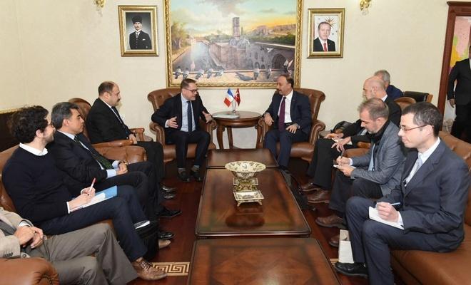 Şanlıurfa Valisi Erin, Fransızları Suriye'ye davet etti