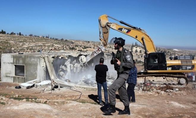 İşgal çetesi  Kudüs'te 62 bina yıktı!
