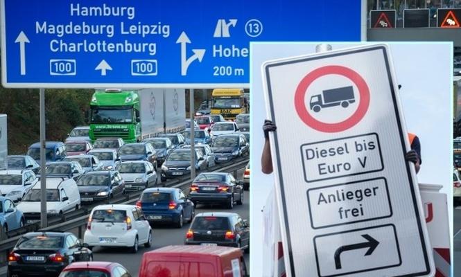 Dizel araçları yasaklayan ilk Alman şehri