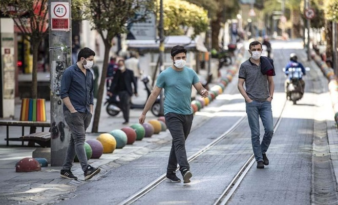 Maskesiz sokağa çıkmanın yasaklandığı il 33'e yükseldi