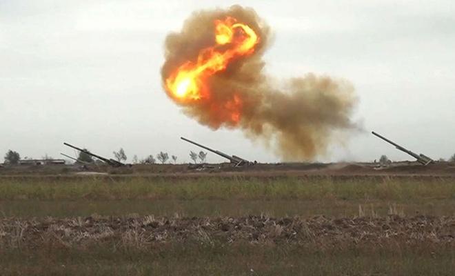 Cephe hattındaki çatışmalar Azerbaycan ordusunun kontrolünde