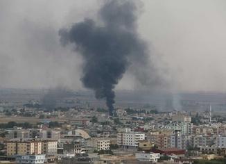 Resulayn'da şiddetli çatışmalar bugün de devam etti