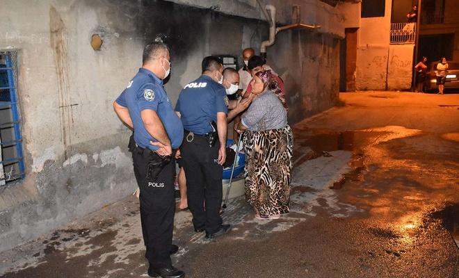 Adana'da annesi ile tartışan kişi evini yaktı