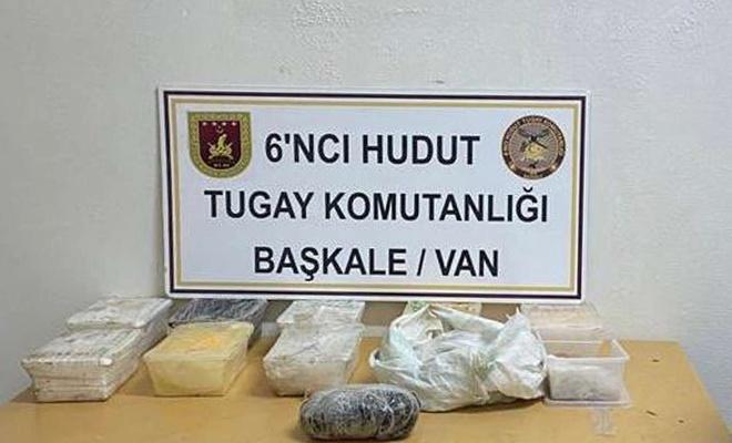 Van'da hudut hattında uyuşturucu ele geçirildi