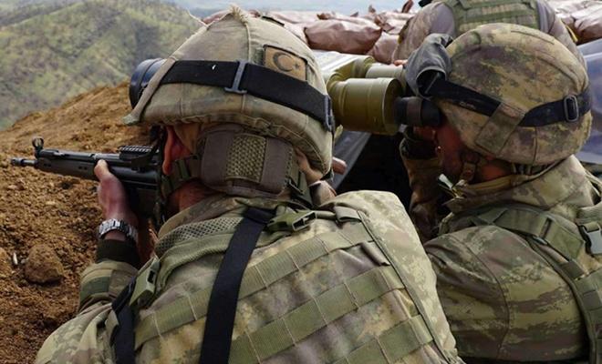 Barış Pınarı bölgesinde 4 PKK/YPG elemanı öldürüldü