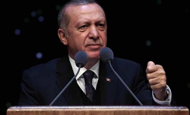Erdoğan`dan IMF`ye: Borçlandırmalar altınla olsun