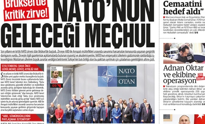 Brüksel`de kritik zirve!  NATO`nun geleceği meçhul