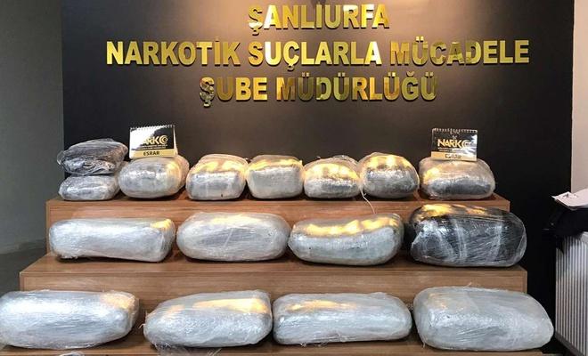 Şanlıurfa'da uyuşturucu operasyonunda 5 şüpheli gözaltına alındı