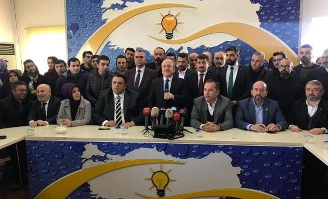 AK Parti Çorum İl Başkanı istifa etti