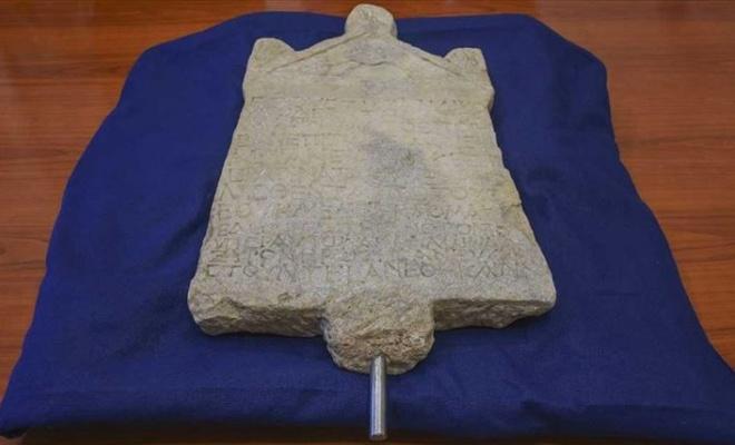 1800 yıllık yazıt Türkiye'ye dönüyor