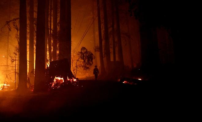 Trump, Kaliforniya'daki yangınları büyük afet ilan etti