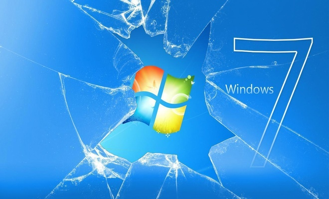 Windows 7'de yolun sonu görünüyor