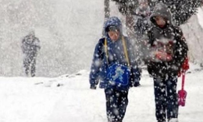 Eğitime kar engeli (GÜNCELLENİYOR)