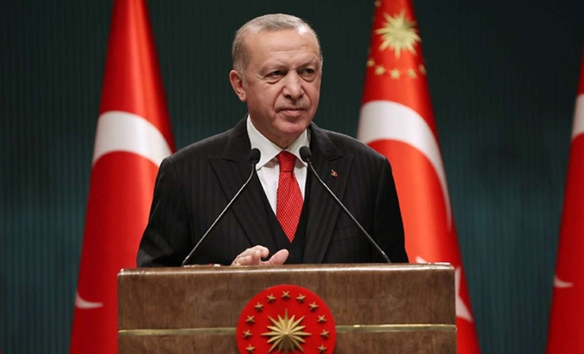 Cumhurbaşkanı Erdoğan: Aşı süreciyle kontrolü daha kolay bir mücadele dönemine gireceğiz