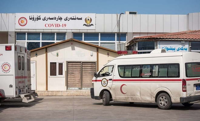 Li Herêma Kurdistanê 12 kes ji Coronavîrusê mirin û  645 kes bi Coronayê ketin