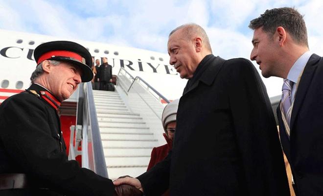 Turkey's President Erdoğan in the UK