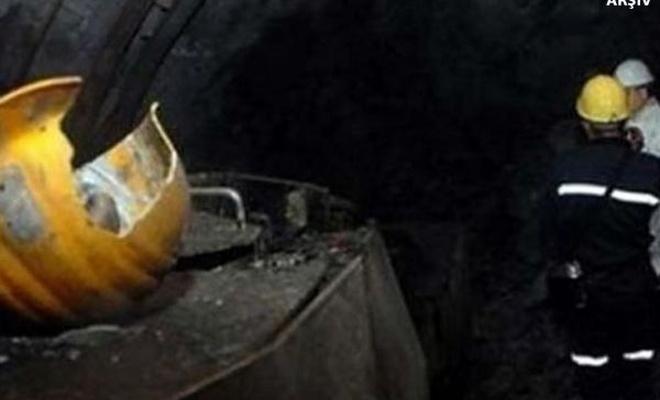Maden ocağına kaya düştü: 11 yaralı