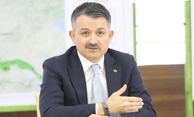 """Bakan Pakdemirli: """"Türkiye çölleşmeyle mücadele deneyimini diğer ülkelere aktarıyor"""""""