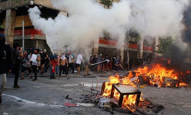 Şili'deki protestolarda hayatını kaybedenlerin sayısı yükseldi