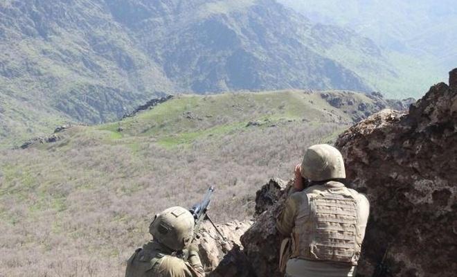 Tunceli`de çatışma: 2 PKK`li öldürüldü