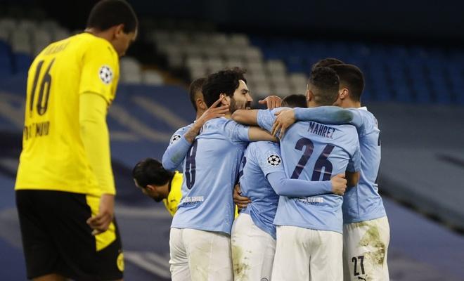 Manchester City Şampiyonlar Ligi'nde Dortmund'u son dakikada yıktı