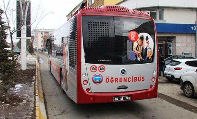 Ağrı'da toplu taşımada hastabüs ve öğrencibüs dönemi