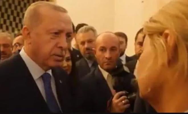 Cumhurbaşkanı Erdoğan'dan 'Endişeli misiniz?' sorusuna sert yanıt