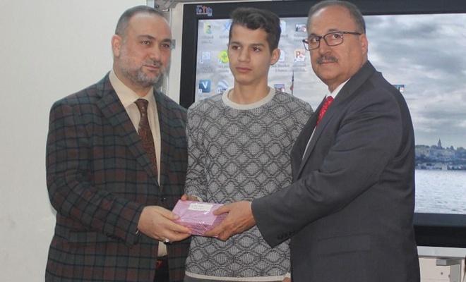 'Asr-ı Saadete Mektuplar' yarışmasının ödülleri verildi