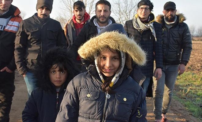 7 yaşındaki Afgan Leyla: Yunan polisi bizi darbetti