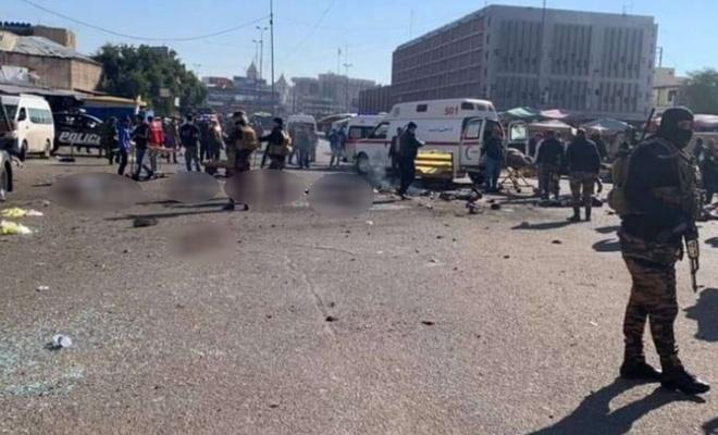 Bağdat'taki canlı bomba saldırılarında ölü sayısı 32'ye yükseldi