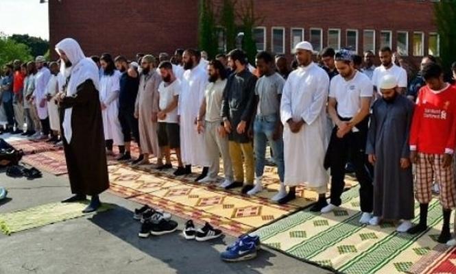 Müslümanlar AB ülkesinde yağmur duasına çıktı