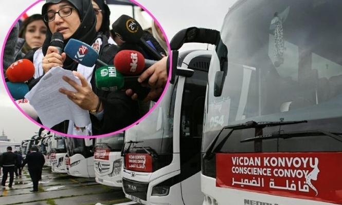Vicdan Konvoyu İstanbul`dan yola çıktı