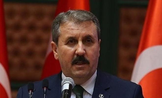 BBP Genel Başkanı Destici:  HDP kapatılmalıdır