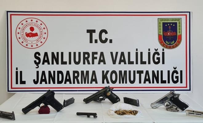 Urfa'da silah kaçakçılarına operasyon