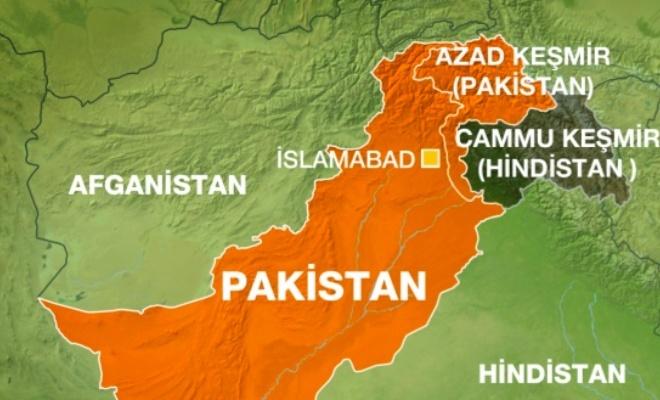 Pakistanlı bakanlar Keşmir Kontrol Hattı'nı ziyaret etti